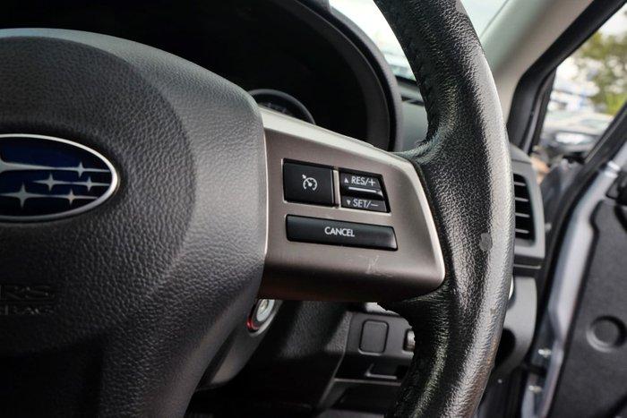 2014 Subaru XV 2.0i-L G4X MY14 Four Wheel Drive Silver