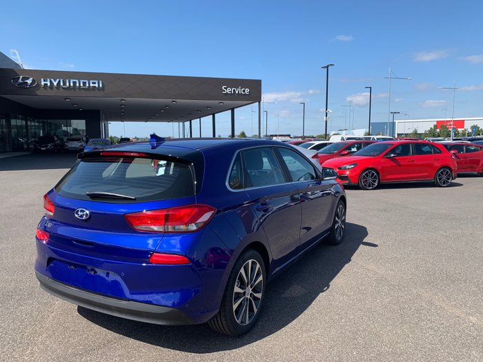 2019 Hyundai i30 Elite PD2 MY20 Blue