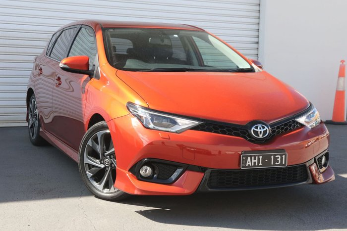 2015 Toyota Corolla Levin ZR ZRE182R Orange
