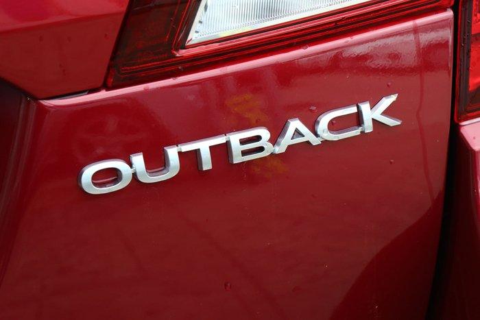 2019 Subaru Outback 2.5i Sports Premium 5GEN MY20 Four Wheel Drive Red