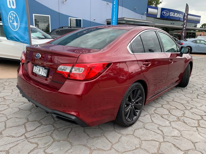 2019 Subaru Liberty 2.5i Sports Premium 6GEN MY20 Four Wheel Drive Red