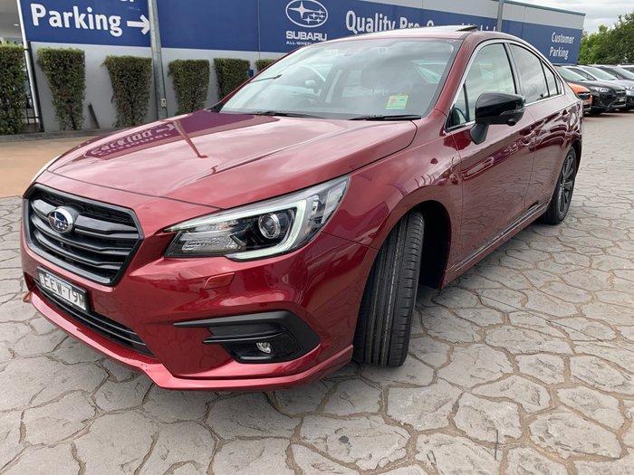 2019 Subaru Liberty 2.5i Sports Premium 6GEN MY20 Four Wheel Drive Red