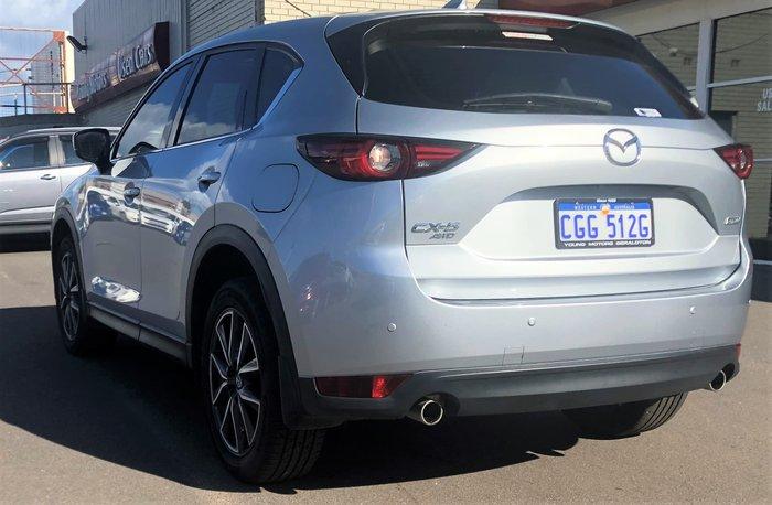 2017 Mazda CX-5 GT KF Series 4X4 On Demand Silver
