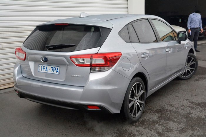 2019 Subaru Impreza 2.0i Limited Edition G5 MY19 Four Wheel Drive Silver