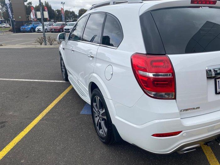 2017 Holden Captiva LTZ CG MY17 4X4 On Demand White