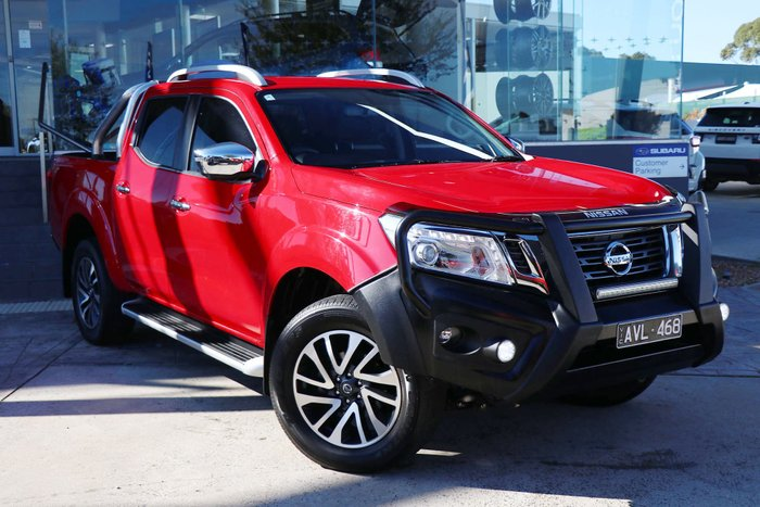 2018 Nissan Navara ST-X D23 Series 3 Red