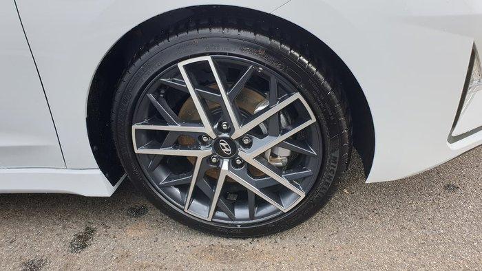 2019 Hyundai Elantra Sport AD.2 MY19 White
