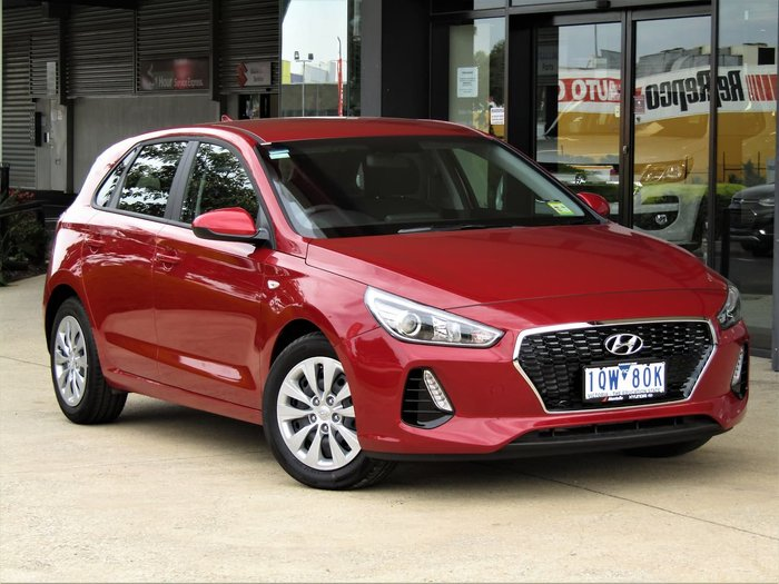 2019 Hyundai i30 Go PD.3 MY20 Red