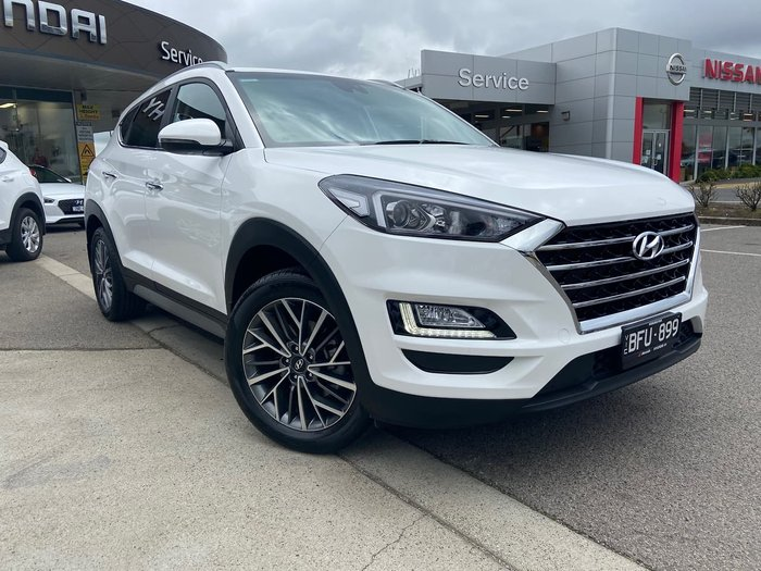 2019 Hyundai Tucson Elite TL3 MY19 4X4 On Demand White
