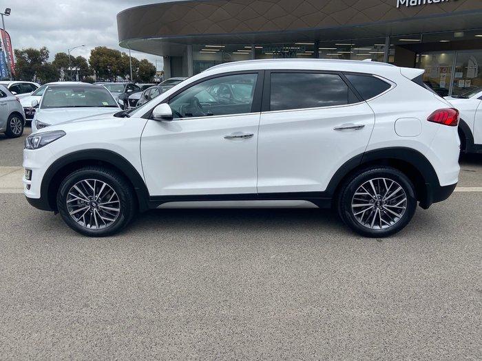 2019 Hyundai Tucson Elite TL3 MY19 4X4 On Demand White