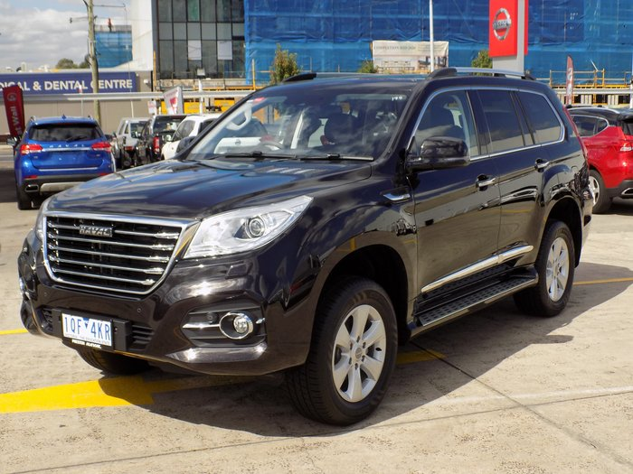 2020 Haval H9 Ultra MY19 Four Wheel Drive Black