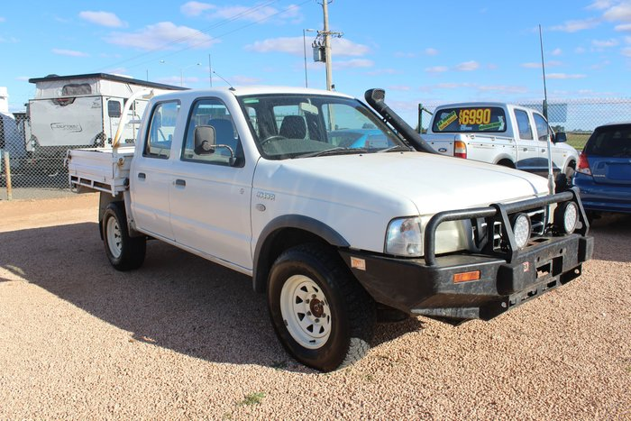 2006 Ford Courier GL PH (Upgrade) 4X4 Dual Range White