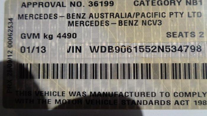 2013 MERCEDES-BENZ SPRINTER 516 CDI null null White