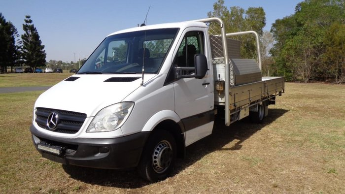 2013 MERCEDES-BENZ SPRINTER 516 CDI null null White