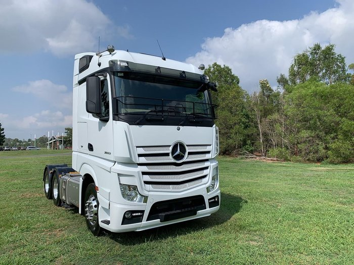 2018 MERCEDES-BENZ 2653 MERCEDES BENZ ACTROS 2653 6X4 null null null