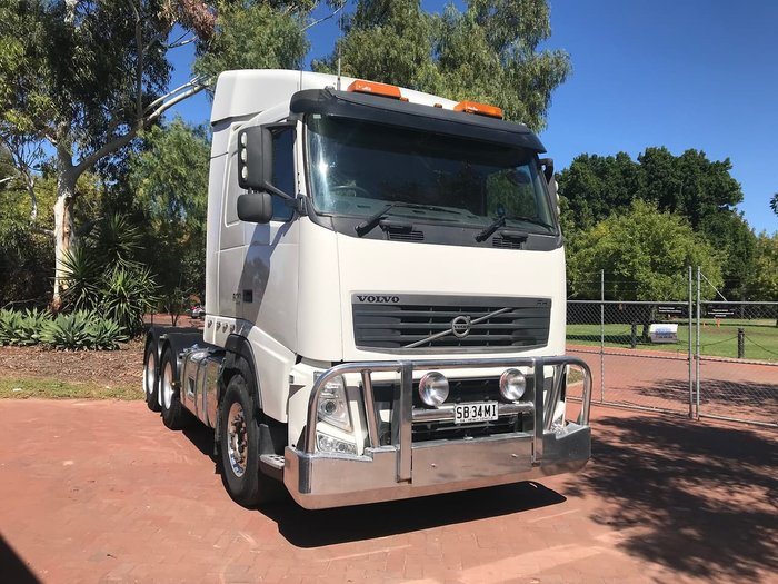 2013 VOLVO FH13 PRIME MOVER null null White