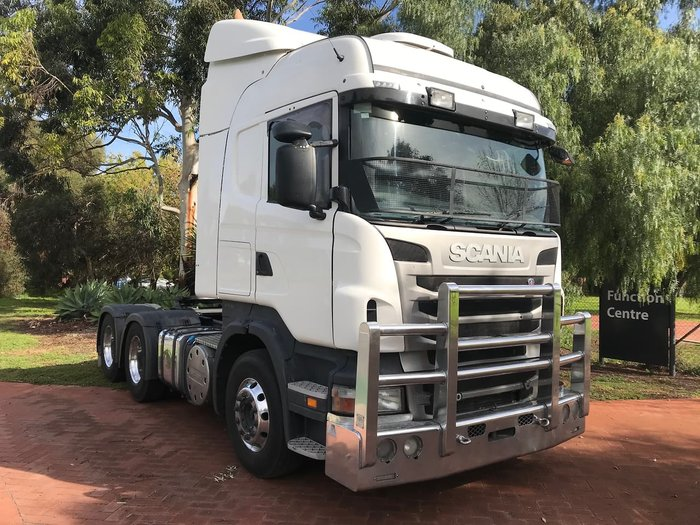 2010 SCANIA R560 null null White