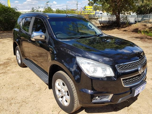 2015 Holden Colorado 7 LTZ RG MY16 4X4 Dual Range Black