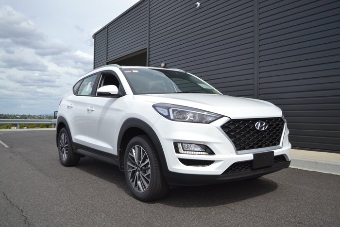2020 Hyundai Tucson Active X TL4 MY20 White