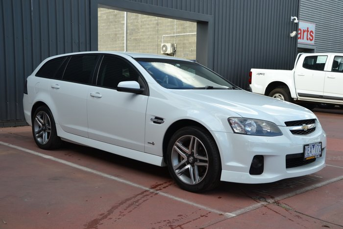 2011 Holden Commodore SV6 VE Series II White