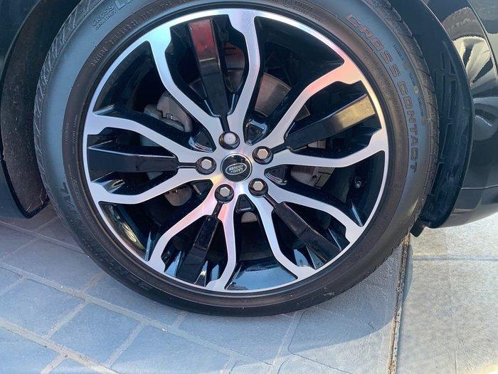 2018 Land Rover Range Rover Sport SDV6 183kW SE L494 MY19 4X4 Constant Black