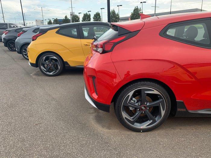 2019 Hyundai Veloster Turbo Premium JS MY20 Red
