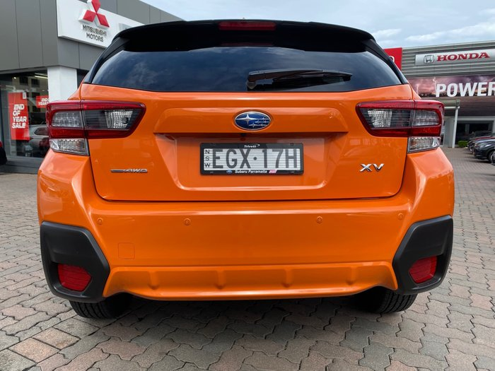 2019 Subaru XV 2.0i-S G5X MY20 Four Wheel Drive Orange