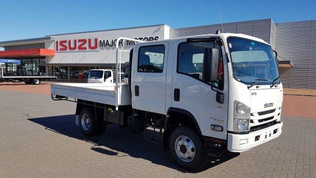 2020 Isuzu NPS 75/45-155 4x4 AMT Crew