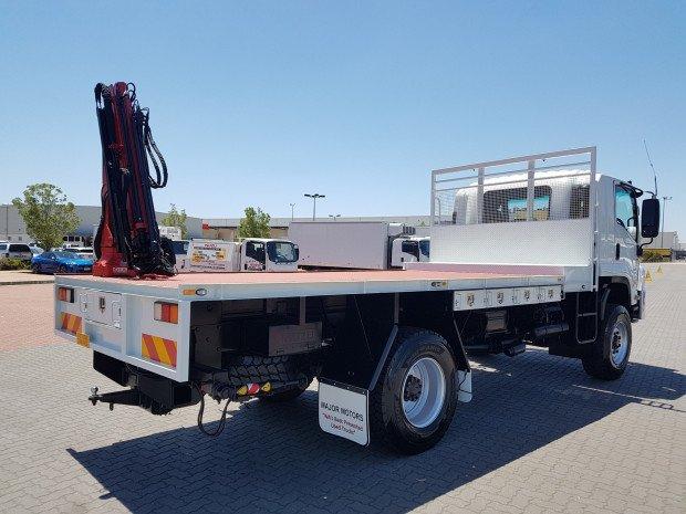 2012 Isuzu FTS800 4x4 Tray and Crane