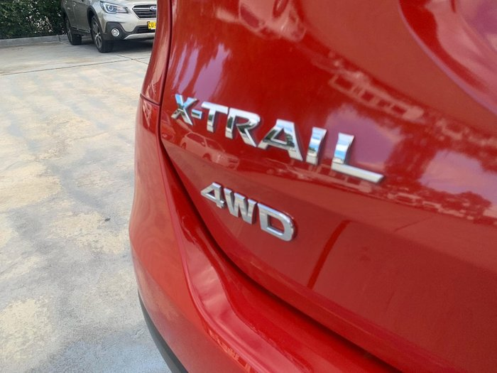 2016 Nissan X-TRAIL ST T32 4X4 On Demand Red