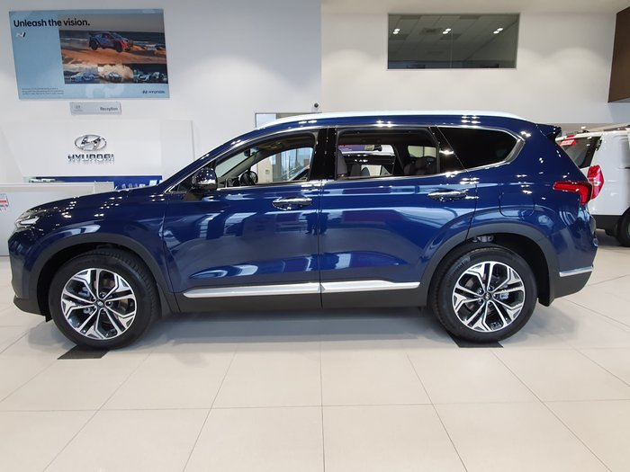 2020 Hyundai Santa Fe Highlander TM.2 MY20 4X4 On Demand Blue