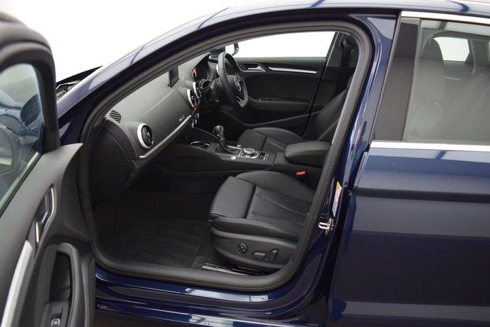 2019 Audi A3 35 TFSI 8V MY19 Blue
