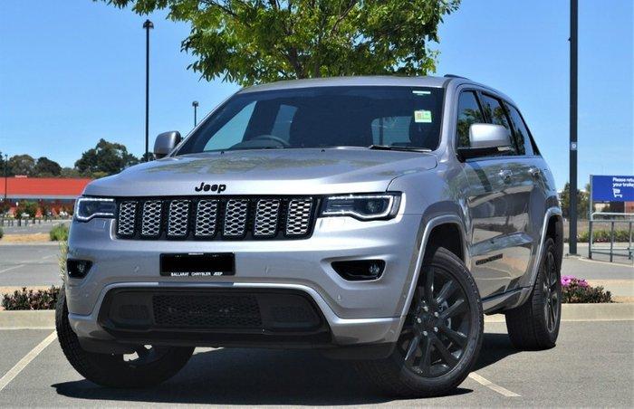 2019 Jeep Grand Cherokee Night Eagle WK MY20 4X4 Dual Range BILLET SILVER METALLIC