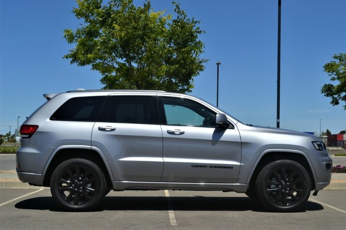 2019 Jeep Grand Cherokee Night Eagle WK MY20 4X4 Dual Range BILLET SILVER METALLIC