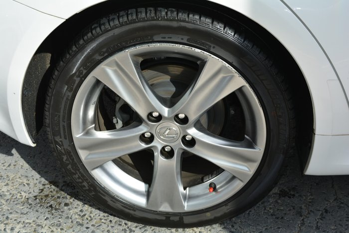 2012 Lexus IS IS250 X GSE20R MY11 White