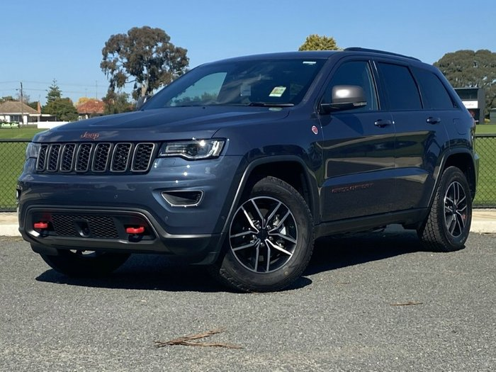 2019 Jeep Grand Cherokee Trailhawk WK MY20 4X4 Dual Range BLUE SHADE PEARL