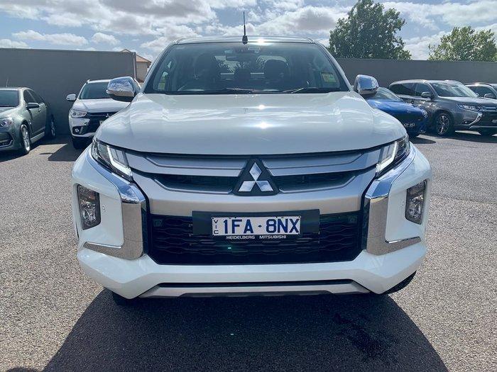 2019 Mitsubishi Triton GLS MR MY19 4X4 Dual Range White