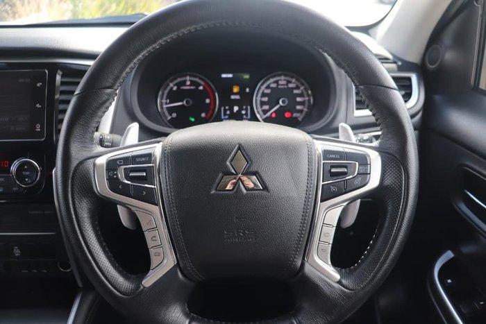 2018 Mitsubishi Triton GLS Premium MR MY19 4X4 Dual Range White