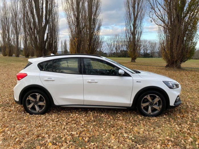 2019 Ford Focus Active SA MY19.25 White
