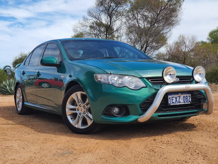 2012 Ford Falcon XR6 Limited Edition FG MkII Green