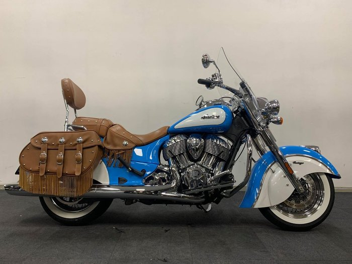 2020 Indian CHIEF VINTAGE SKYBLUE-PL WHITE Blue