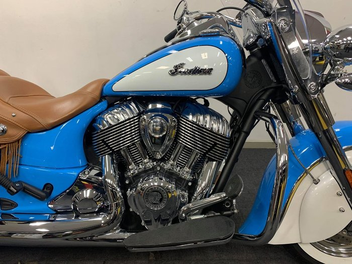 2019 Indian CHIEF VINTAGE SKYBLUE-PL WHITE Blue