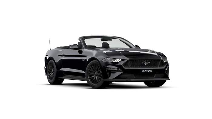 2019 Ford Mustang GT FN MY19 Black