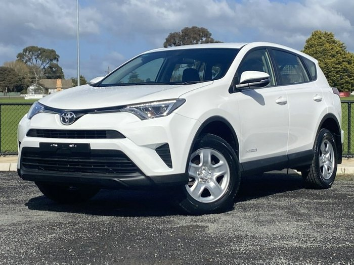2016 Toyota RAV4 GX ALA49R 4X4 On Demand GLACIER WHITE