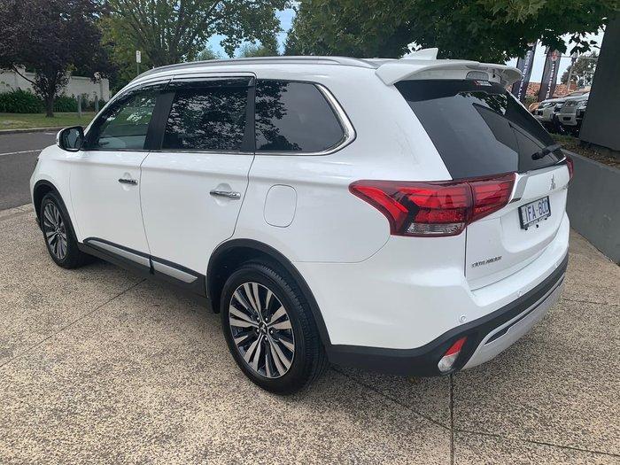 2019 Mitsubishi Outlander Exceed ZL MY20 4X4 On Demand White