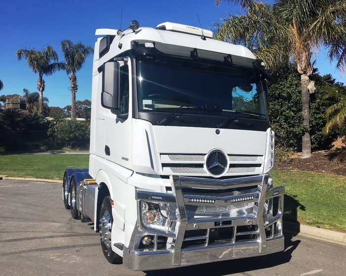2018 MERCEDES-BENZ ACTROS 2653 2.5M STREAMSPACE null null White