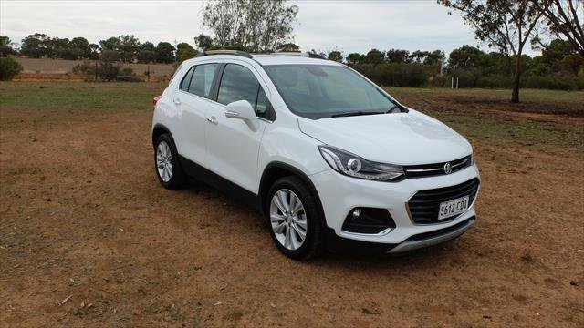 2018 Holden Trax LTZ TJ MY18 Summit White