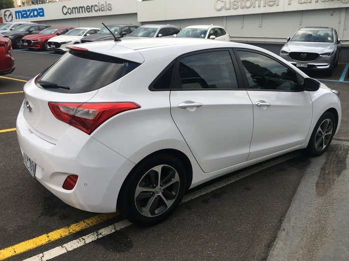 2015 Hyundai i30 Active X GD3 Series II MY16 White