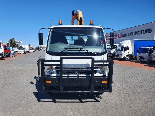 2010 Fuso Fighter 1627 8 Ton Tray and Crane