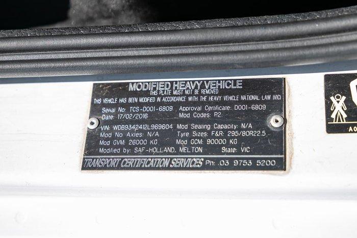 2016 MERCEDES-BENZ 2655 ACTROS V8 null null WHITE
